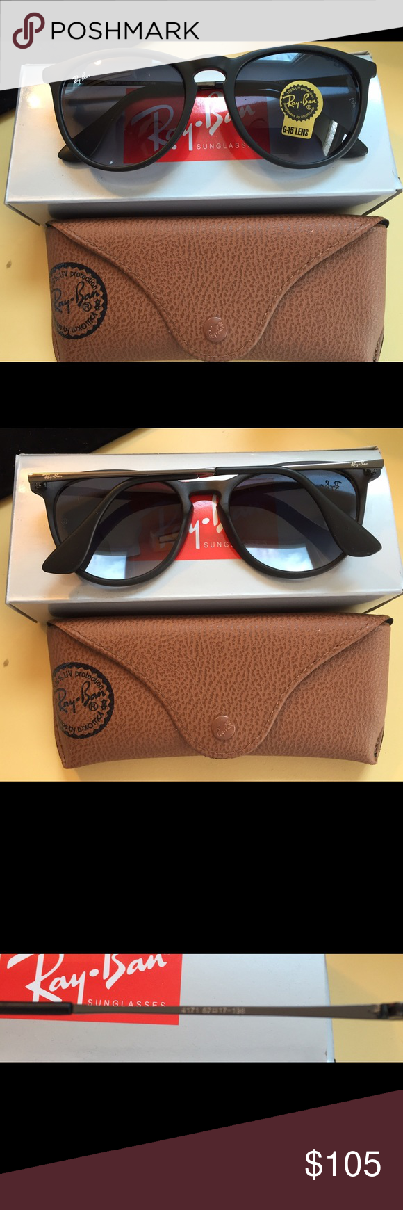 Ray Ban sunglasses 4171 Black Authentic new Ray Ban sunglasses 4171 ...