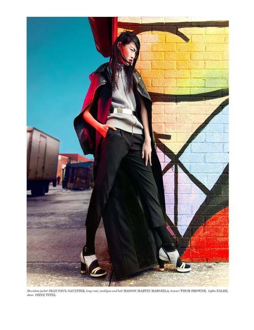 storm models — Tian Yi is 'on fire' in Vestal Mag (Issue 12)