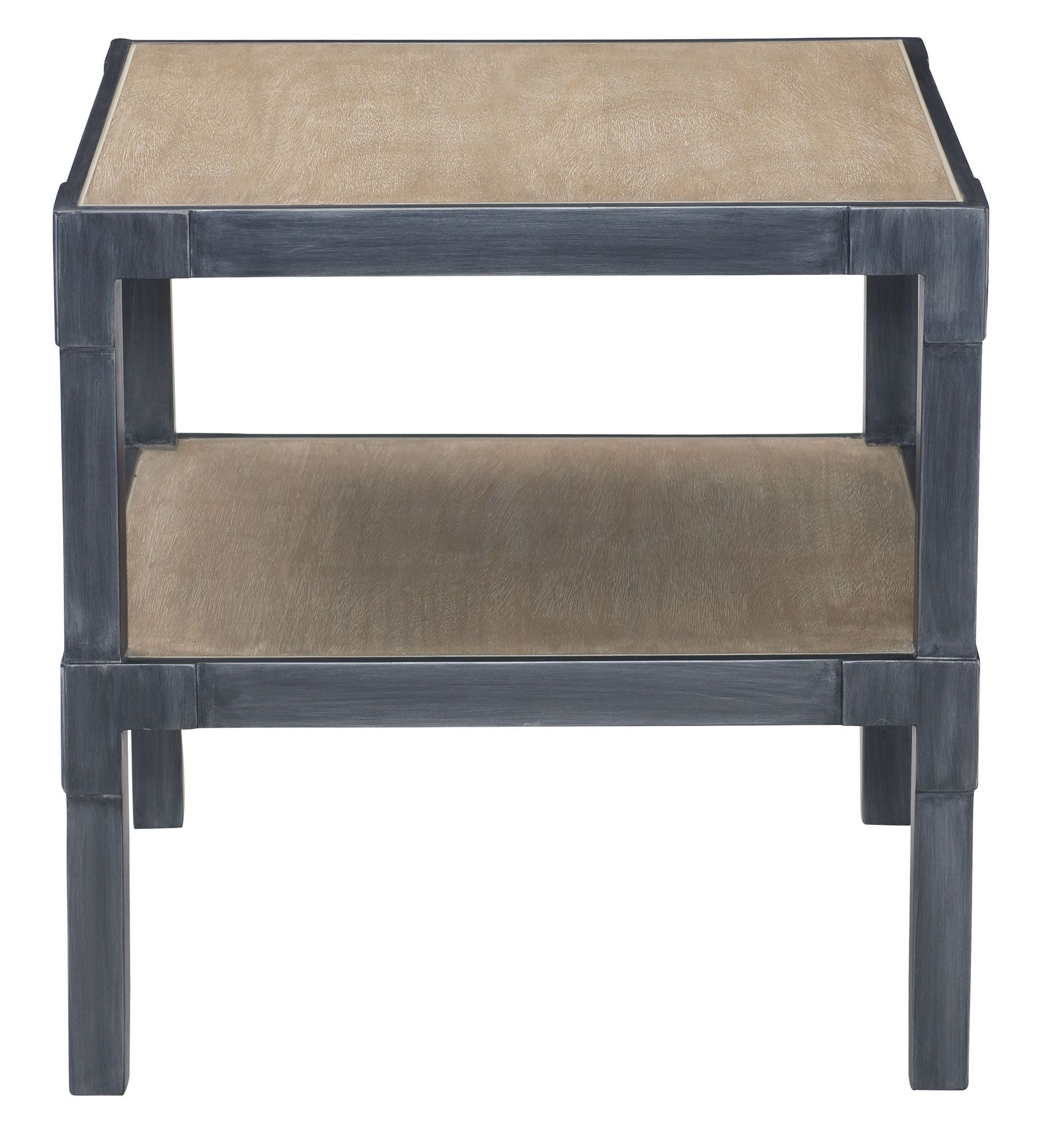 557 106 Saxton Side Table | Bernhardt W 24 D 24 H 24 Bleached Natural
