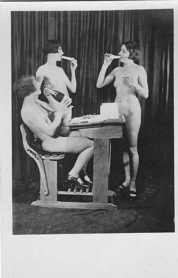 Vintage Original Nude Photo. Erotic by ParisBookandPaper on Etsy, $25.00