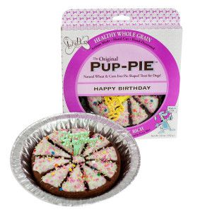 The Lazy Dog Happy Birthday Pup Pie Treat