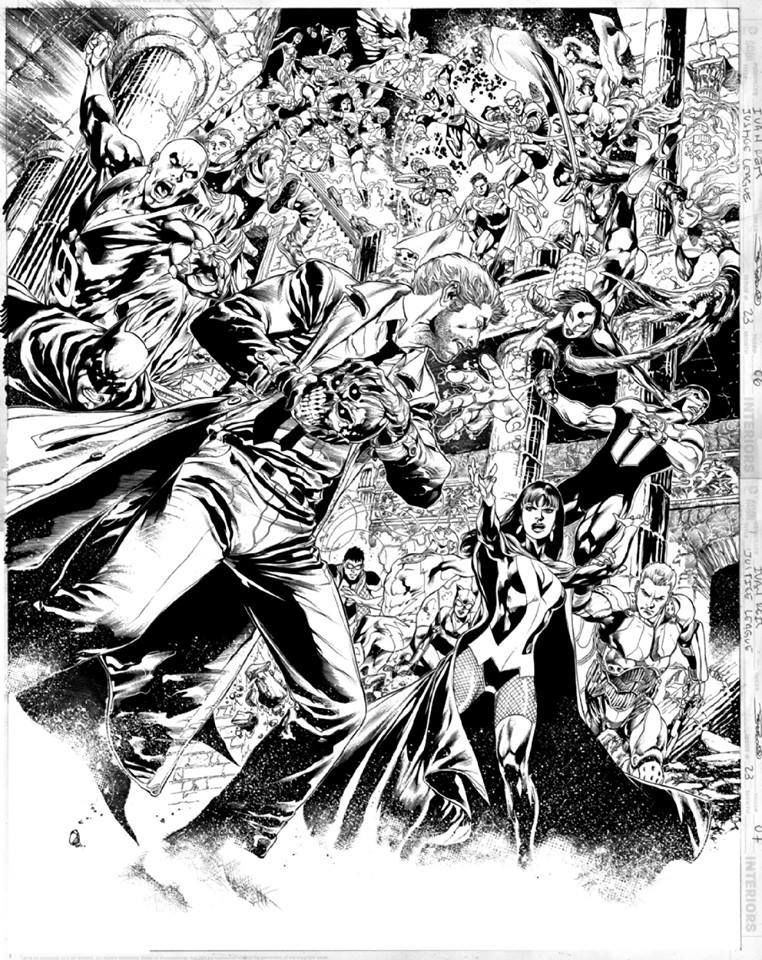 Justice League 23 by Ivan Reis