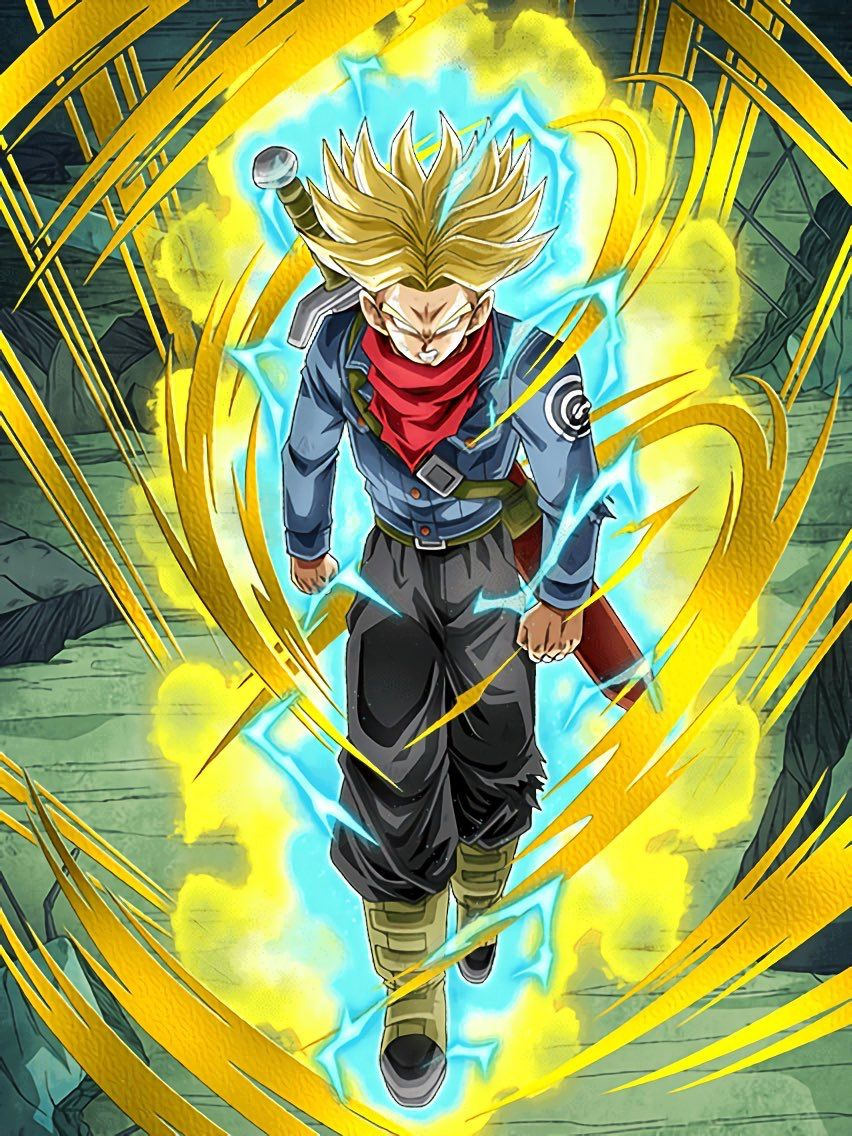 Mirai Trunks Future Trunks Dibujo De Goku Dragon Ball Y