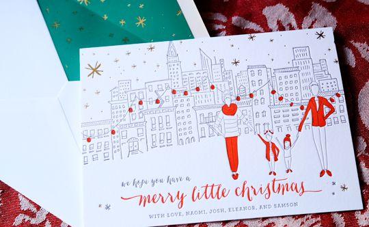 Letterpress Christmas Cards.Christmas Card X Mas Christmas Cards Family Christmas