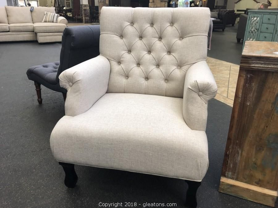 New Arrival New Traditional Button Tufted Accent Chair For Sale