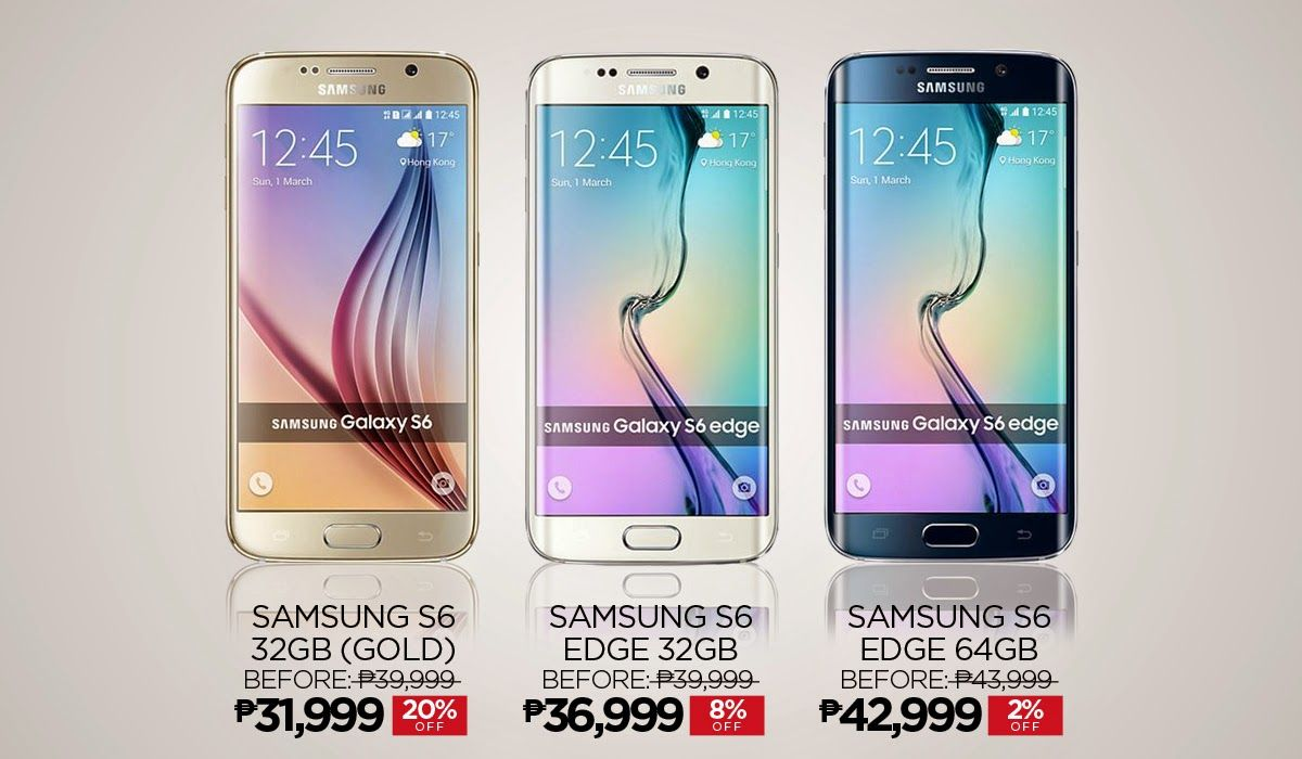 Galaxy s6 capacitive buttons the android soul - Samsung Galaxy S6 And S6 Edge In Lazada Philippines