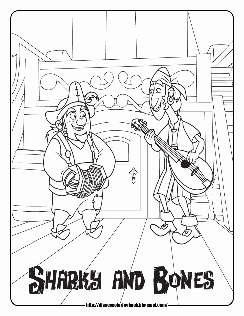 Pirate Coloring Pages For Preschool Elegant The Best Free Never Coloring Page Images Download From 120 [ jpg ]