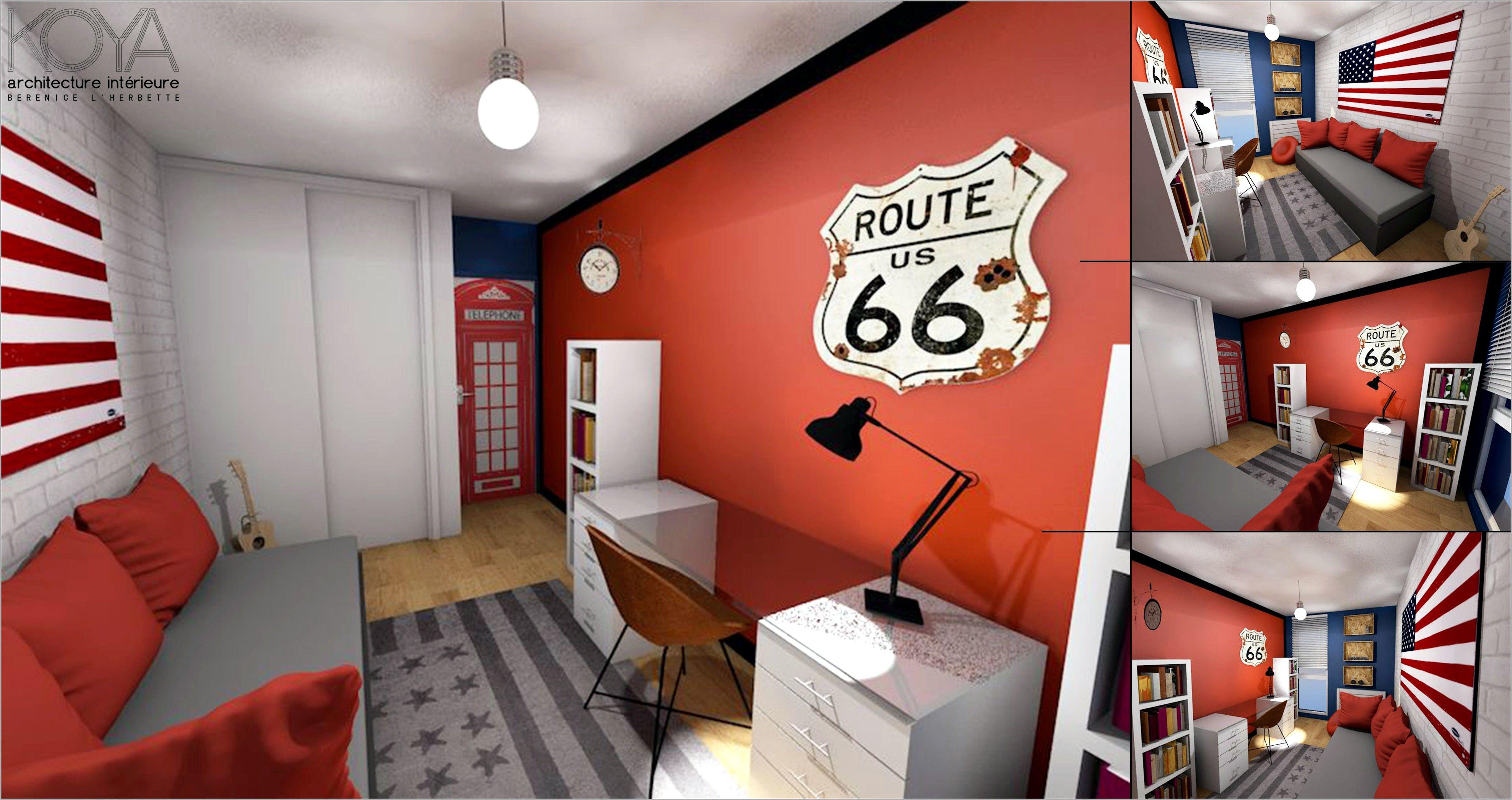 Deco Chambre Ado Garcon Esprit Loft in 19  Home decor, Deco, My