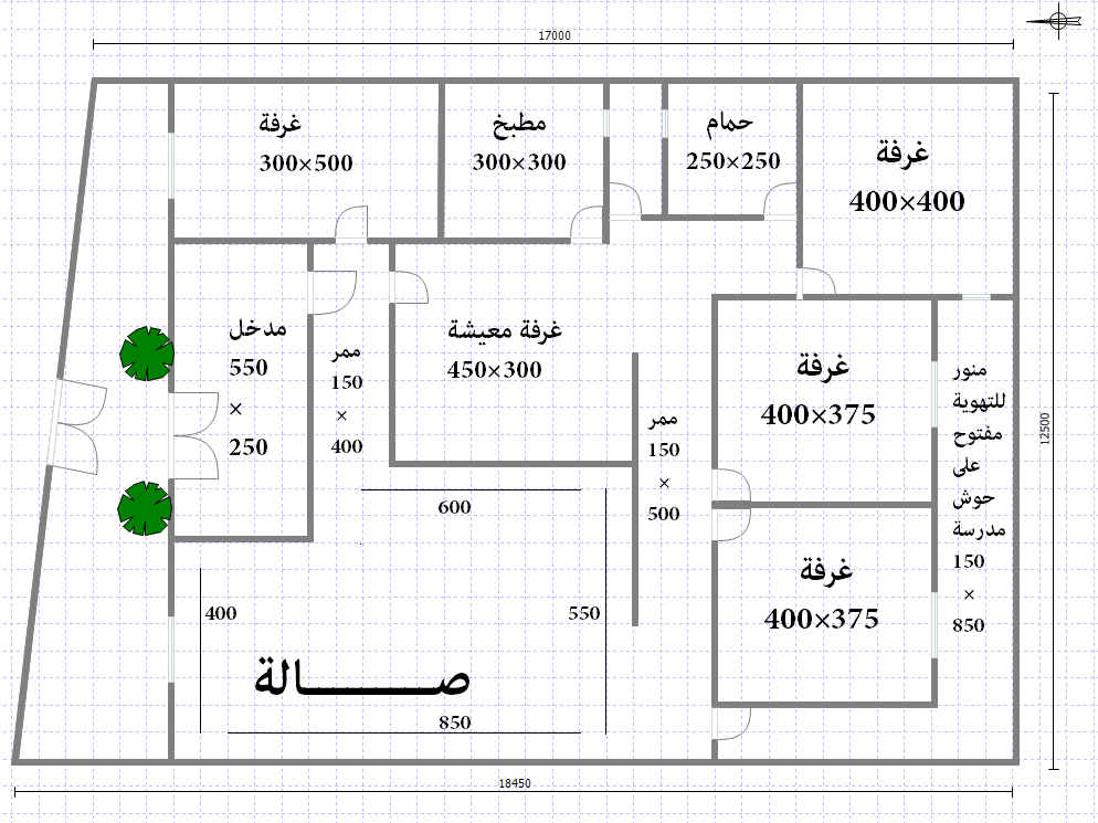 صور تصميم منزل 120 متر واجهتين صمم هيئة منزلك بنفسك 20x40 House Plans House Plans How To Plan