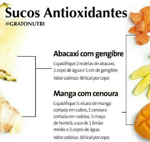 Sumos Antioxidantes