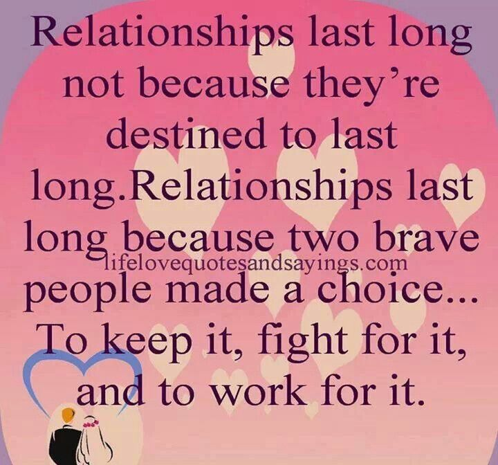 Relationships last long because...   Just saying...   Pinterest ...