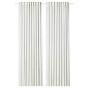 LILL Lace curtains, 1 pair, white - IKEA