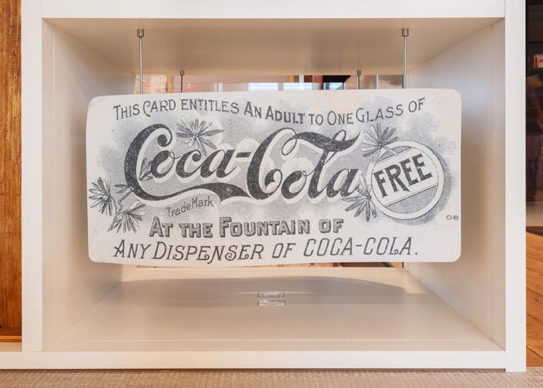 Coca-Cola HQ by MoreySmith is decorated with vintage memorabilia