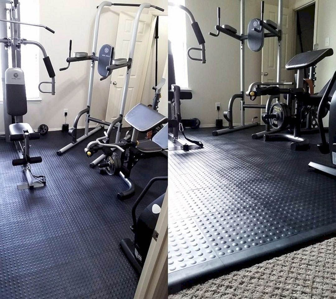 Home Gym Design Ideas Basement: Creative Residence Gyms Ideas