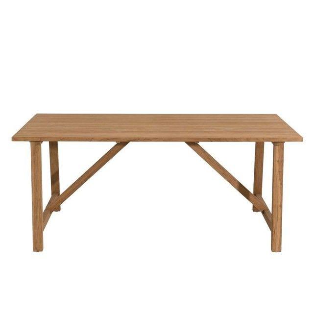 Table de Jardin Teck 180x90cm BERGEN ref. 30020834 en 2019 ...
