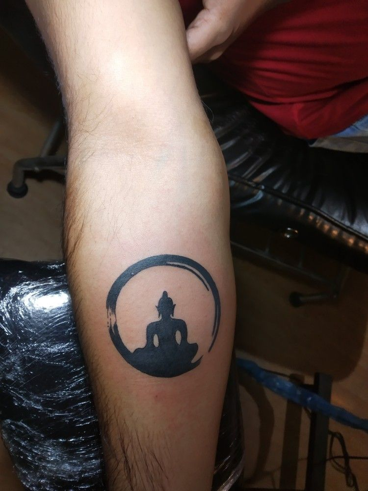 Buddha tattoo made some 2 week ago callwhatsapp us