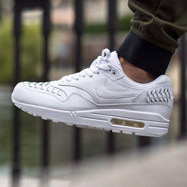 sale retailer 38a4d 9fadf  Nike Air Max 1 Triple  white