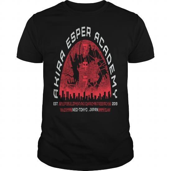 Cool NeoTokyo039s ESPer Academy T-Shirts