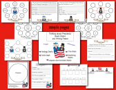 Thinking about Presidents: Smart Charts and Writing Frames product from Smart-Charts on TeachersNotebook.com