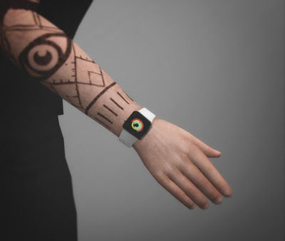 My Sims 4 Blog: Apple Watch by Azentase | Sims | Sims 4