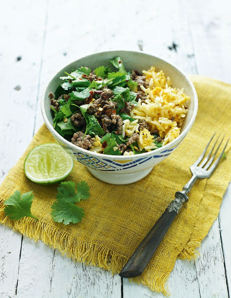 Thai beef larb with egg fried rice recipe easy recipes and make weeknights less stressful with this easy spicy thai inspired storecupboard recipe made ccuart Images