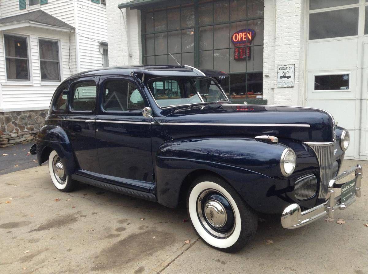 1941 Ford Super Deluxe 4 Door Sedan, Fully Restored