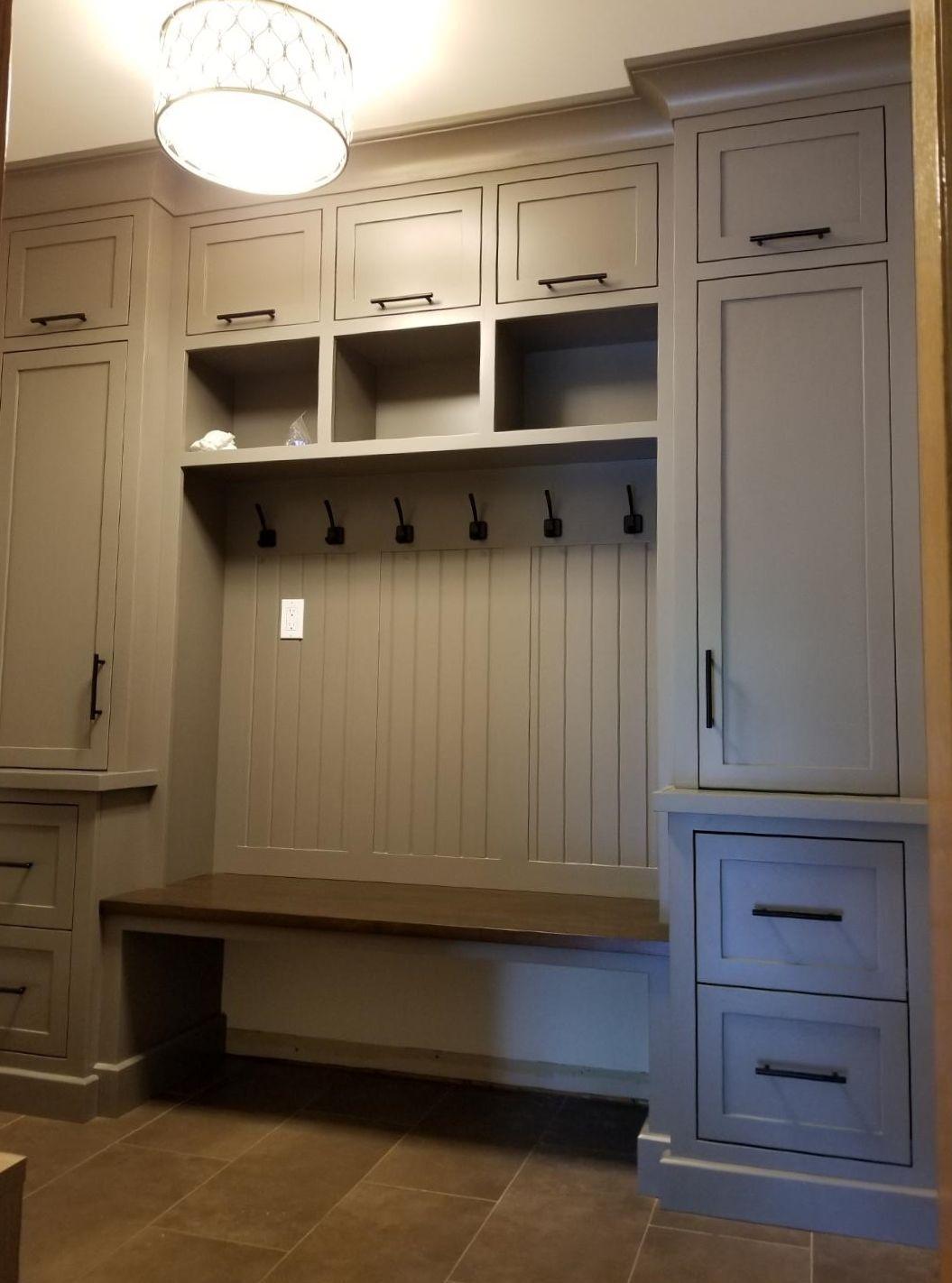 Custom Mudroom Cabinet Entryway Lockers Solutions Home Organization