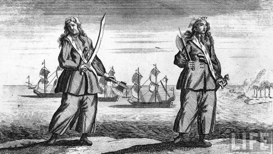 Mary Read & Anne Bonny #pirate #buccaneer