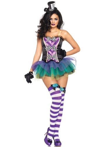 feather top corset with matching skirt bustier - Bustier Halloween Costumes