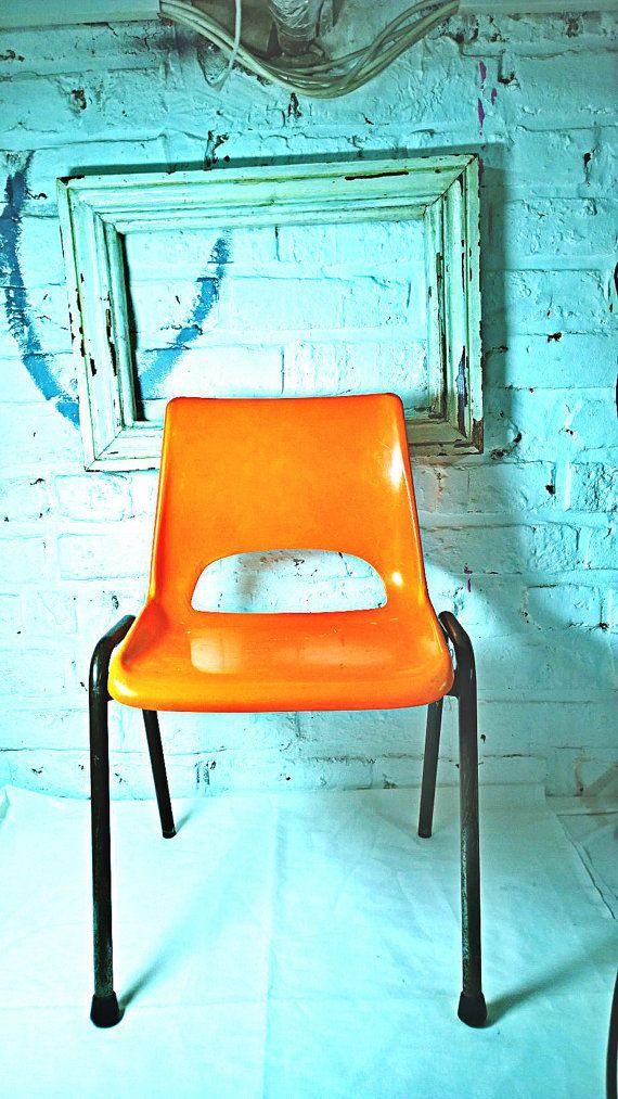 Chaise D Ecole Enfant Plastique Vintage Chair Accent Chairs Vintage
