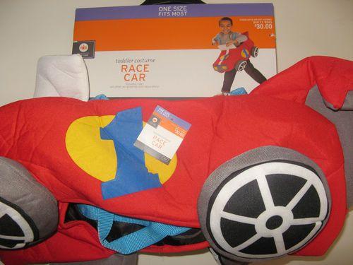 toddler race car costume