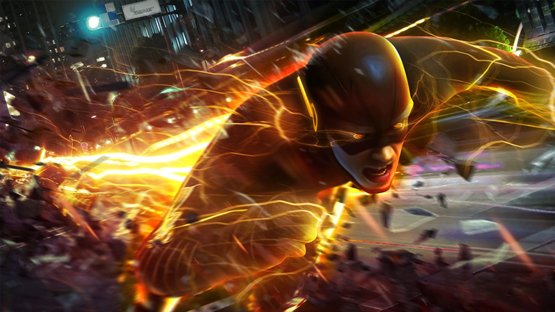 Barry Allen The Flash Wallpapers HD Free Download 1920x1080 Wallpaper 38