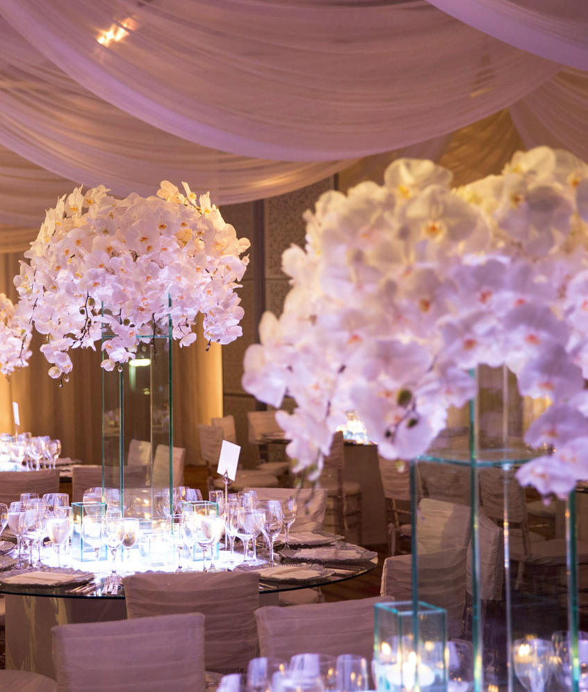 Elegant wedding centerpieces - 33 Enchanted Romantic Wedding Centerpieces