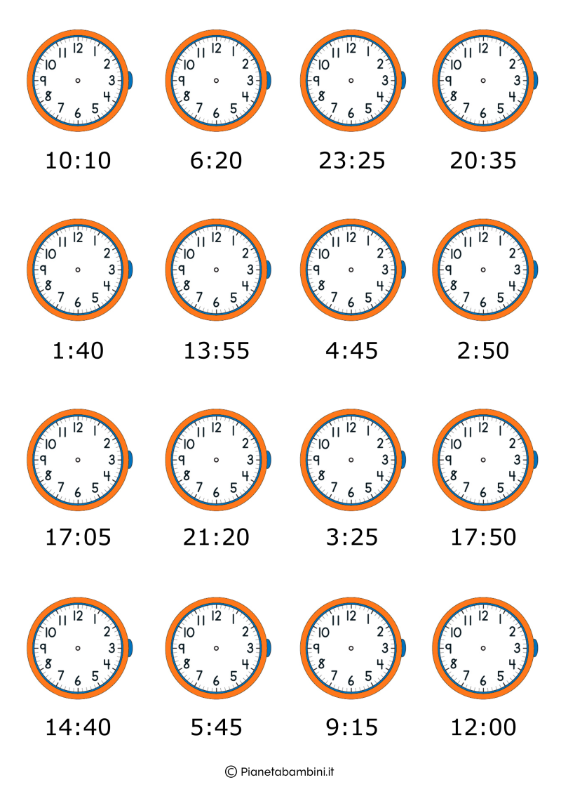 L Orologio Schede Didattiche Per La Scuola Primaria Learning Math Math Worksheets Kindergarten Math Worksheets [ 1131 x 800 Pixel ]