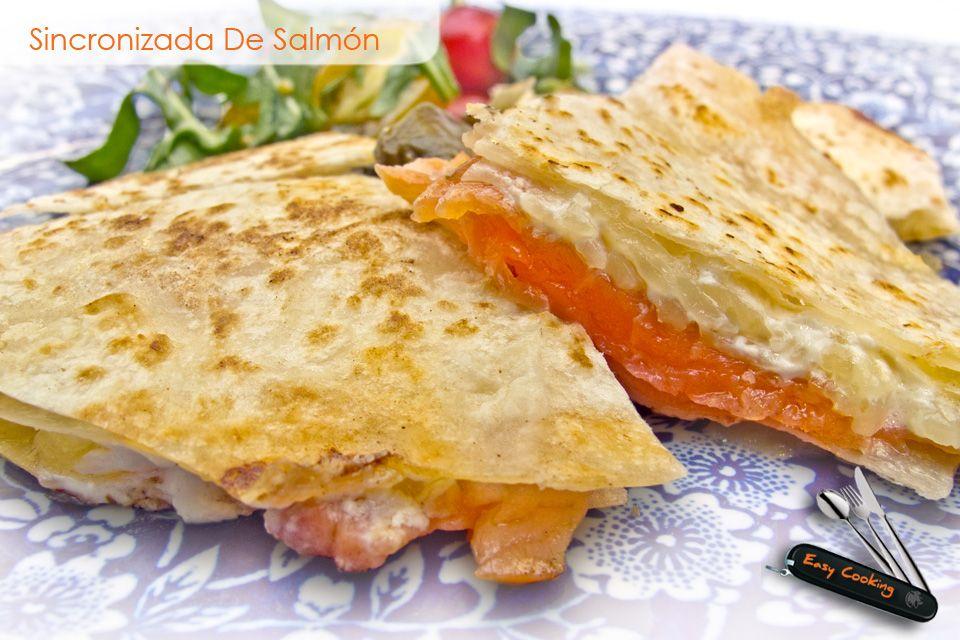 Sincronizada de salm n recetas comida food alimentos - Platos gourmet economicos ...