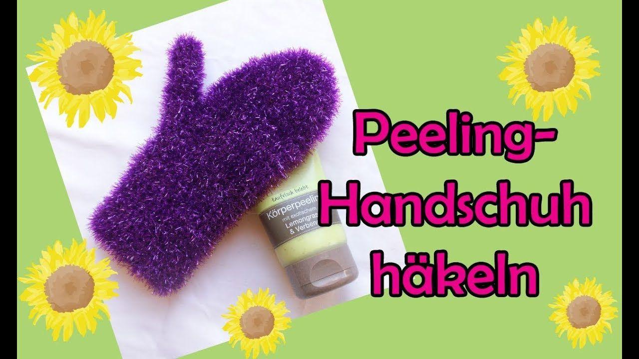 Peeling Handschuh Häkeln Diy Häkelanleitung Handarbeiten