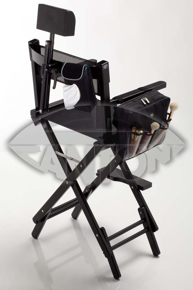 ad729f6c31 WOODEN MAKEUP ARTIST CHAIR S102N + HEADREST - PROMO PACK. Makeup diretor  chairs. Cantoni for makeup and aesthetic professionals. Dual height  portable chair ...