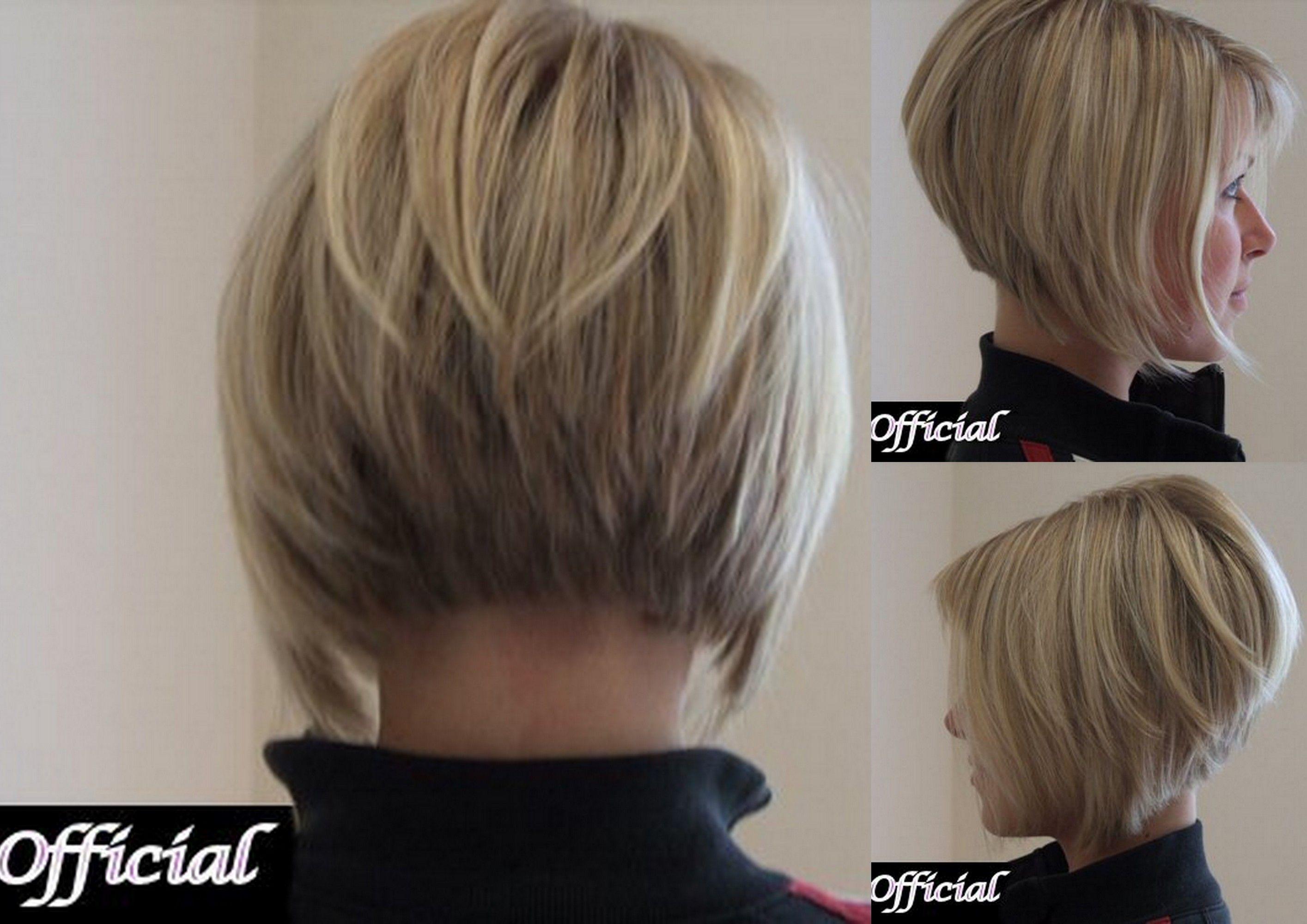 Modele coiffure carre plongeant