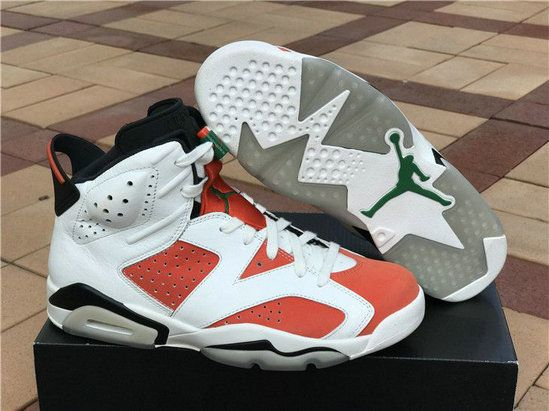 brand new 13bc0 e9eac 2017 2018 Daily Authentic Cheap Air Jordan 6 Gatorade Summit White Black  Team Orange Basketball Shoe For Sale