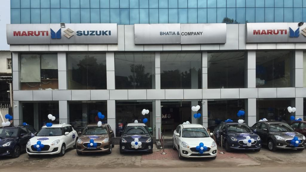 Bhatia and Company is a Maruti Suzuki ARENA dealer in