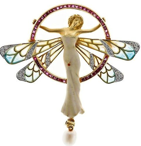 Art Decó, Art Nouveau joies