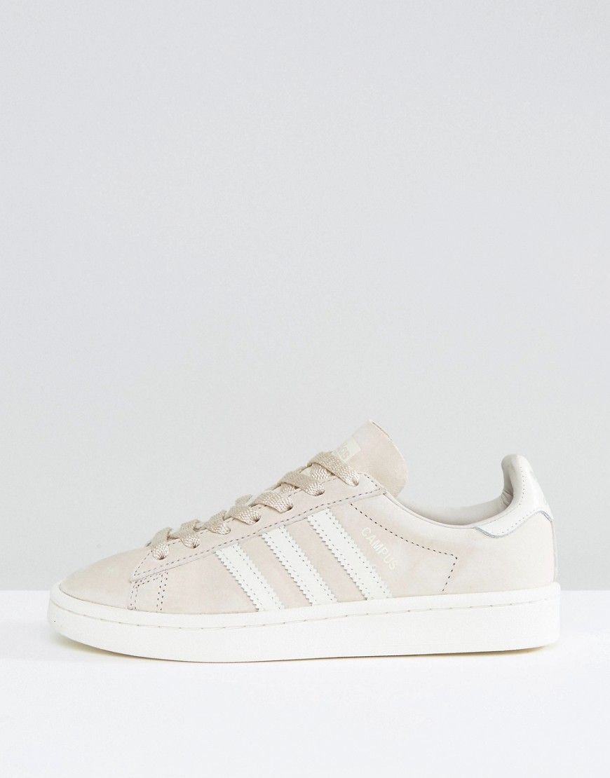 size 40 58564 a670e adidas Originals Beige Suede Campus Sneakers - Brown