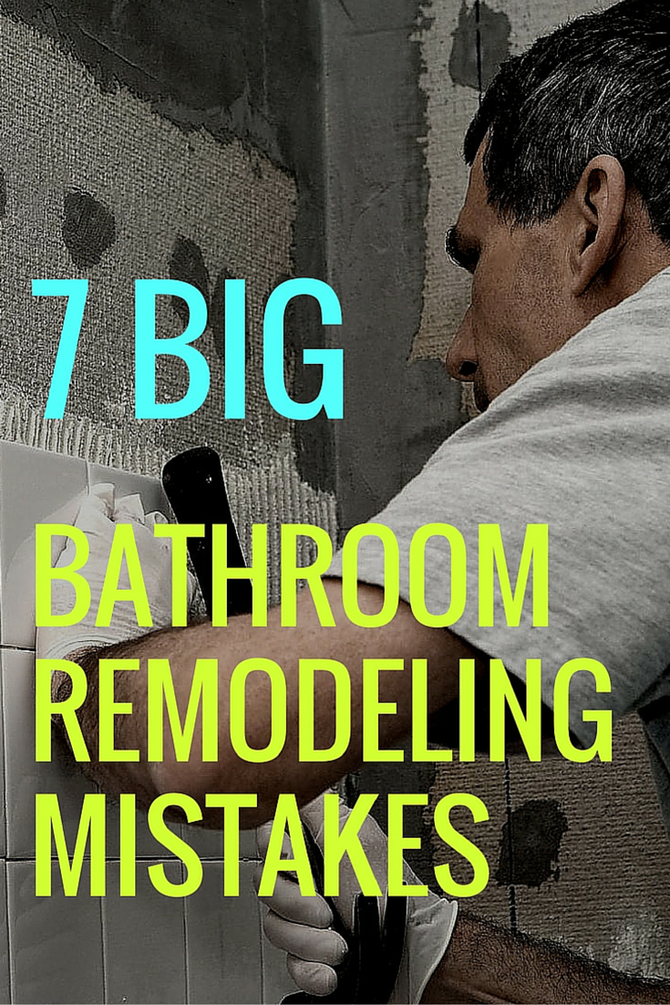 Bathroom Layout Mistakes 7 mistakes not to make in your bathroom remodel | bathroom