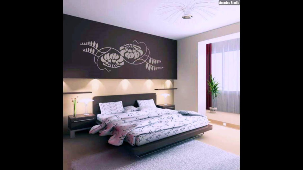 Wohnideen Wandgestaltung Schlafzimmer Youtube In 2020 Bedroom Design Inspiration Wall Design Bedroom Decor