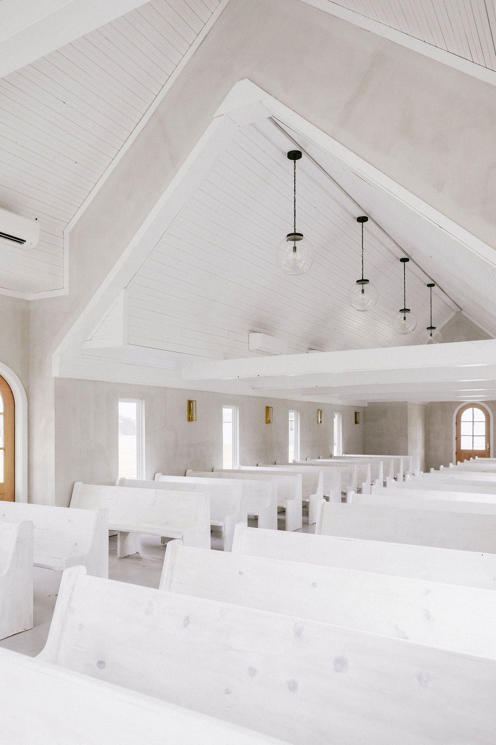 Designed By Leanne Ford This Minimal Wedding Chapel Is Now