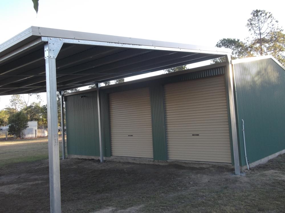 New 6x9x3 Carport Off Set Post Design Metal Garages Modern