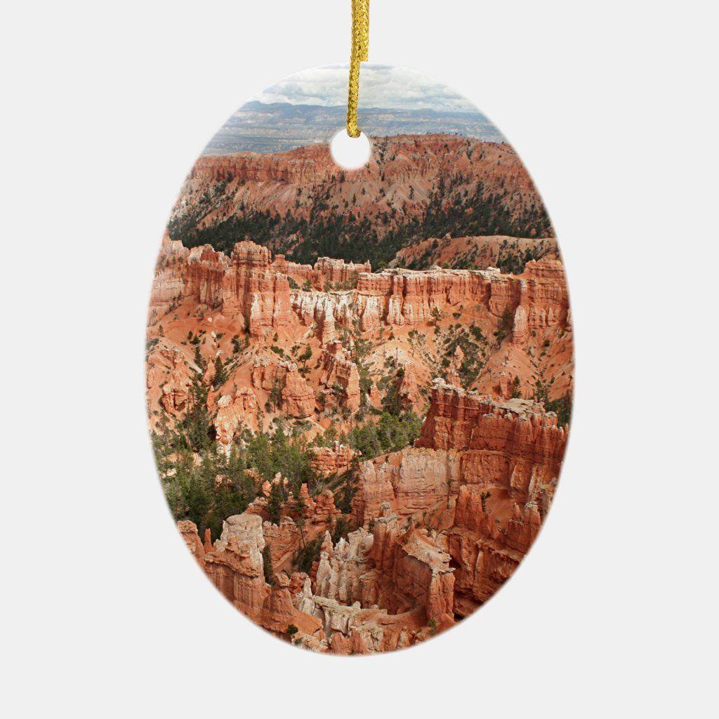 Bryce Canyon National Park, Utah, USA 20 Ceramic Ornament