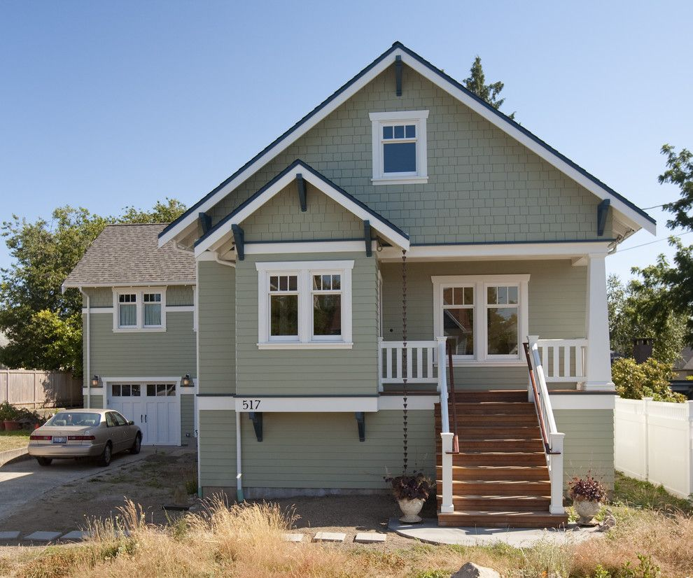 Exterior Home Styles: Exterior Window Trim Styles Exterior Craftsman With