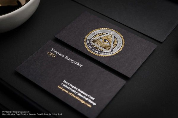 Black foil stamped best luxury business card design sentinel black foil stamped best luxury business card design sentinel security reheart