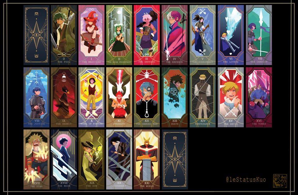anime tarot cards show